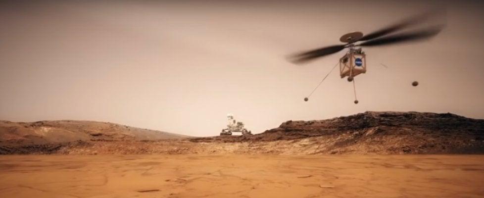La Nasa invierà un mini-elicottero su Marte