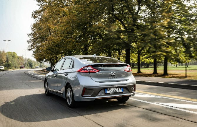 Hyundai Ioniq, reginetta di efficienza
