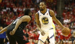 Basket Nba, finale Ovest: Durant trascina i Warriors, Houston va ko