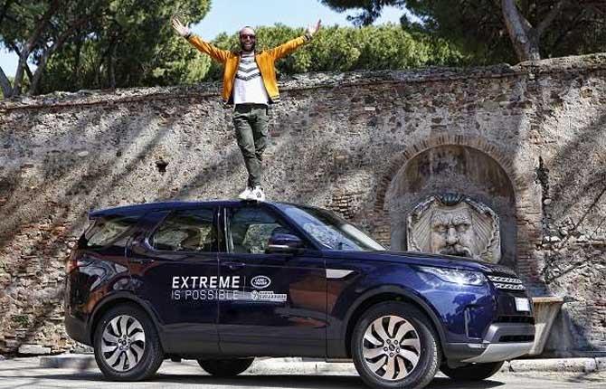 Danilo Callegari brand ambassador Land Rover