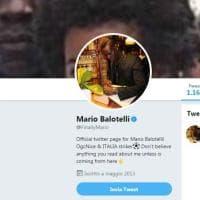 Mancini ct, Balotelli sui social: ''Attaccante Italia''