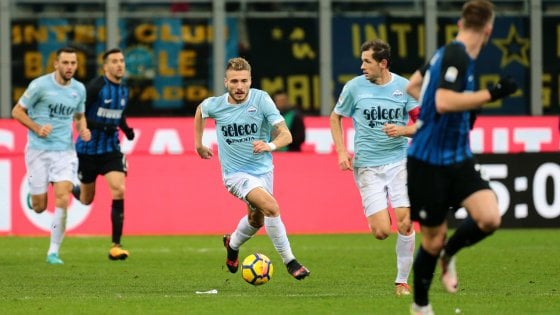 Verso Lazio-Inter: Immobile vuole giocare, le ultime