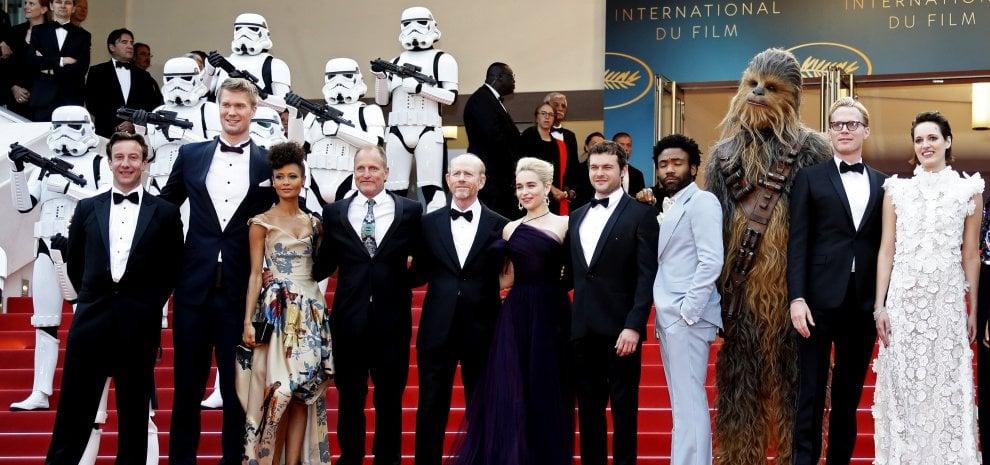 'Solo: a Star Wars Story', la più grossa americanata vista a Cannes