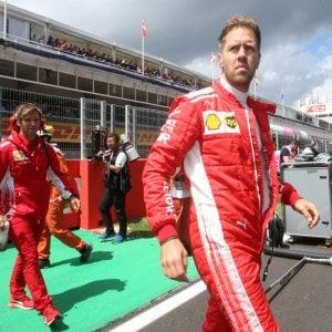 F1, test a Barcellona: domina Verstappen, bene Vettel