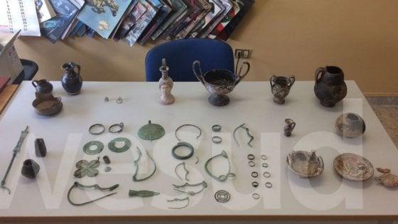 Crotone, un tesoro archeologico in una stalla
