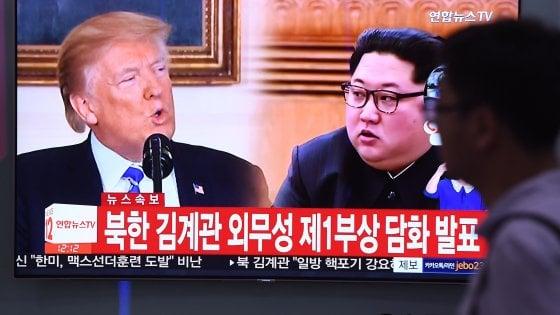 Nord Corea-Usa, Kim minaccia di far saltare il vertice con Trump