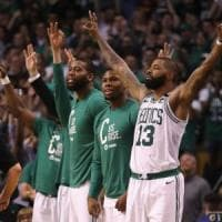 Basket, playoff Nba: LeBron non basta, Boston 2-0 in finale Est
