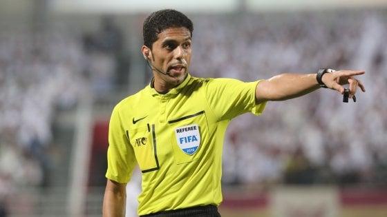 Arabia Saudita, arbitro Al-Mirdasi radiato per corruzione: addio Mondiali