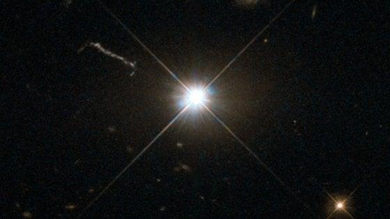 Quel buco nero grande venti miliardi di volte il nostro sole