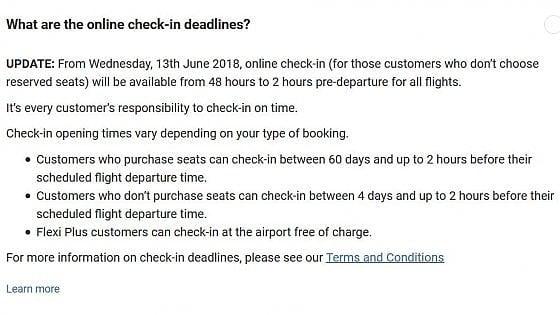 Ryanair taglia il tempo per fare il check-in: 48 ore, a meno di pagare