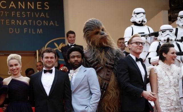 'Solo: a Star Wars Story', la sfilata più eccentrica sulla Croisette
