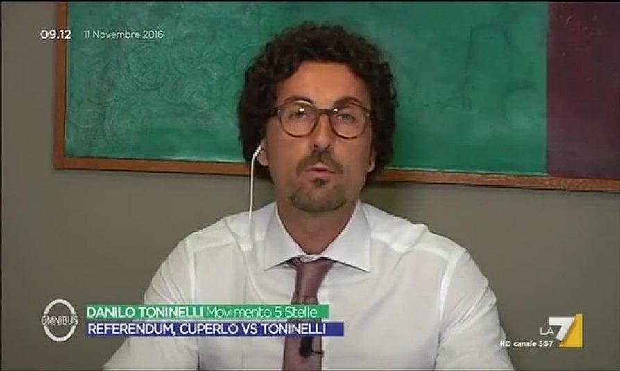 Toninelli, concentrato da sempre
