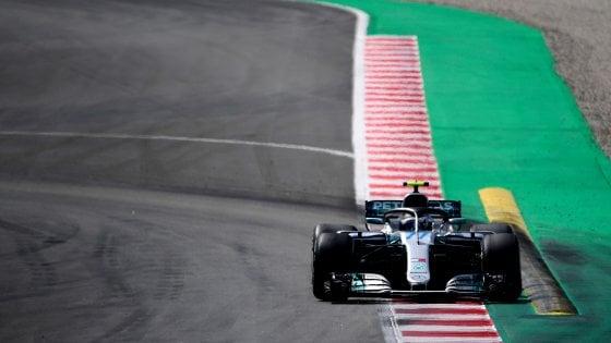 F1, test Barcellona: Bottas il più veloce, Giovinazzi secondo