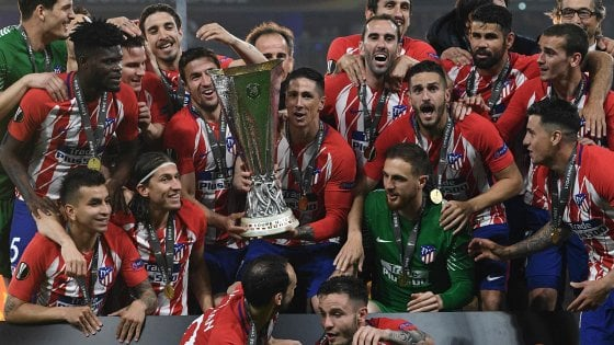 L'Atletico Madrid vince l'Europa League: doppietta di Griezmann e Gabi. Marsiglia battuto 3-0