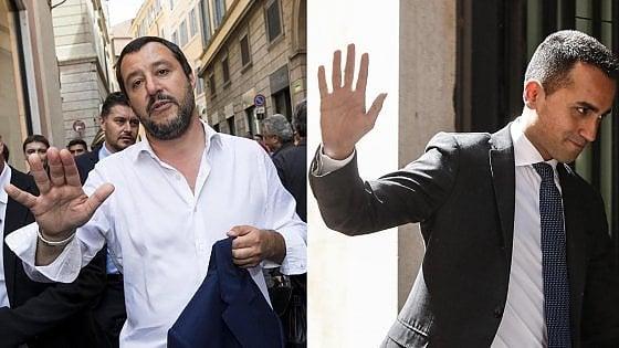 Governo intesa lontana. Salvini