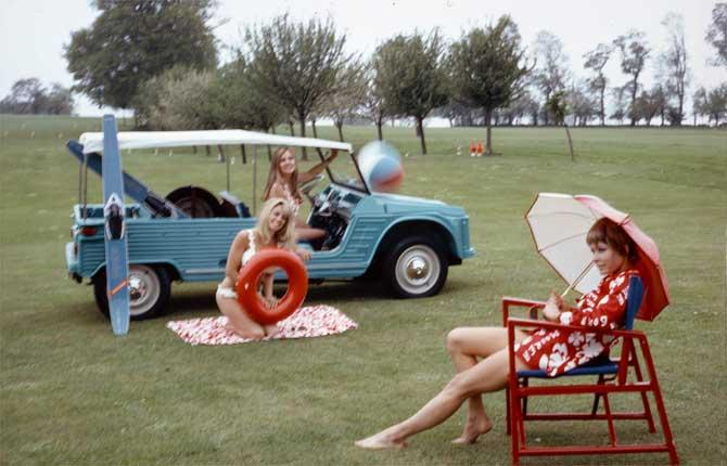 Citroën Méhari, un esordio di successo