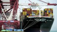 Commercio estero, il surplus di marzo scende a 4,5 miliardi