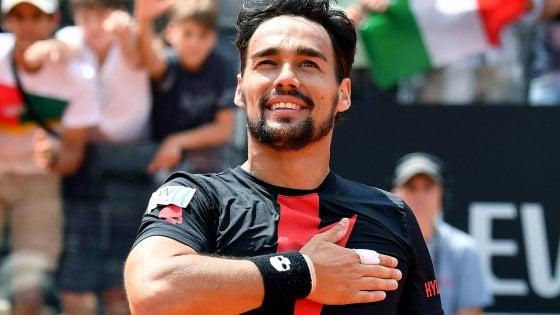 Tennis, Roma: Fognini non sbaglia e passa ai quarti per la prima volta. Sfiderà Nadal