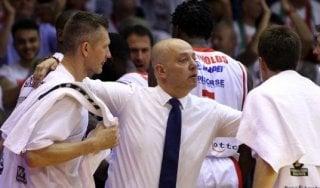 Basket, Reggio Emilia: coach Menetti saluta dopo 8 anni: ''Ho vissuto emozioni fortissime''