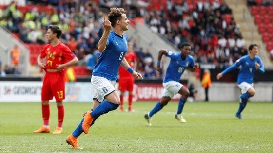 Europei Under 17, Italia in finale: Belgio battuto 2-1