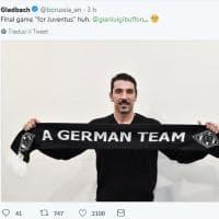 """Buffon e lo scherzo del Borussia M'Gladbach: """"A german team, allora vieni da noi..."""""""