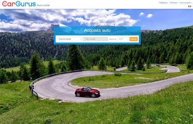 CarGurus sbarca sul mercato italiano