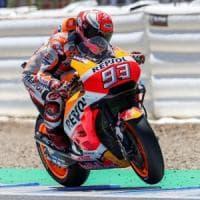 MotoGp, Francia: prime libere nel segno di Marquez, Dovizioso è secondo