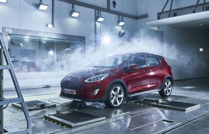 Ford, a prova di clima estremo