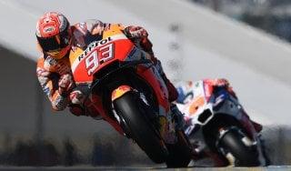 MotoGp, Francia: Dovizioso sfreccia nelle libere, Rossi è terzo