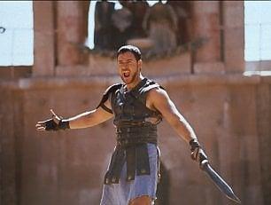 Crowe, un tweet per 'Il gladiatore' al Colosseo