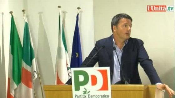 """Pd: offerta di Renzi per evitare la conta. No di Orlando. Calenda: """"Emiliano indecente, va mandato a casa"""""""