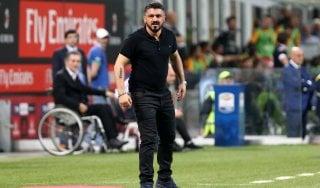 Milan, si blocca Suso: ma Gattuso non rinuncia al tridente