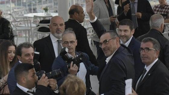 """Napoli, De Laurentiis: """"Sarri? Siamo sereni, chi vivrà vedrà..."""""""
