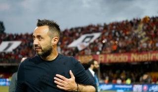 Benevento, De Zerbi annuncia l'addio: ''Scelta non facile''