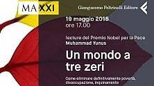 """""""Un mondo a tre zeri"""": letture del Premio Nobel  Muhammad Yunus"""