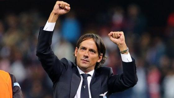 """Lazio, Inzaghi non fa calcoli: """"Due risultati su tre? Vinciamo e basta"""""""
