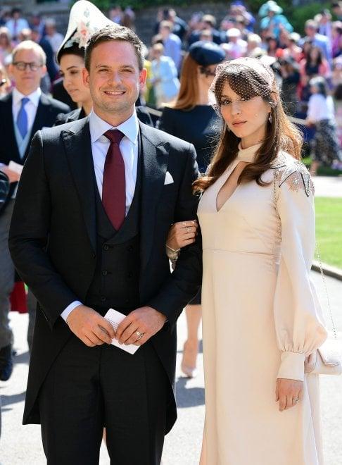 Matrimonio Meghan E Harry : Royal wedding il cast di suits al completo al matrimonio di