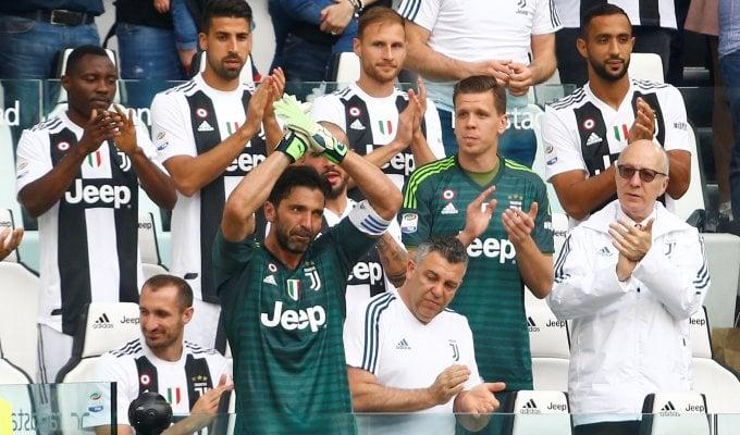 Juventus-Verona 2-1: Pjanic e Rugani in gol nel giorno dell'addio di Buffon e della festa scudetto