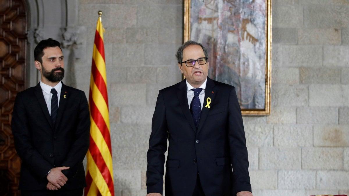 BARCELLONA - Il nuovo presidente catalano, Quim Torra, ha incluso