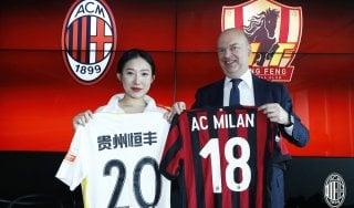 Patto con il Guizhou, il Milan crescerà i campioncini cinesi