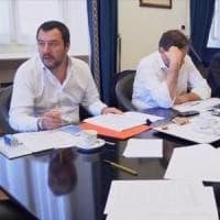"""Faccia a faccia tra Salvini e Di Maio:  """"Abbiamo chiuso su premier e squadra di governo"""""""