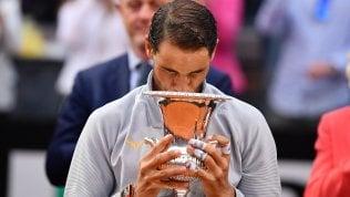 Nadal vince gli Internazionali: battuto Zverev in tre set