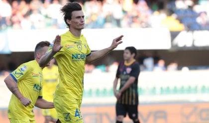 Inglese saluta con il gol salvezza Il Chievo batte il Benevento 1-0