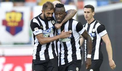Fofana, un gol per la Serie A L'Udinese domina e batte Bologna 1-0