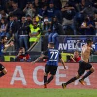 Lazio-Inter 2-3: Vecino chiude la rimonta nel finale, nerazzurri in Champions