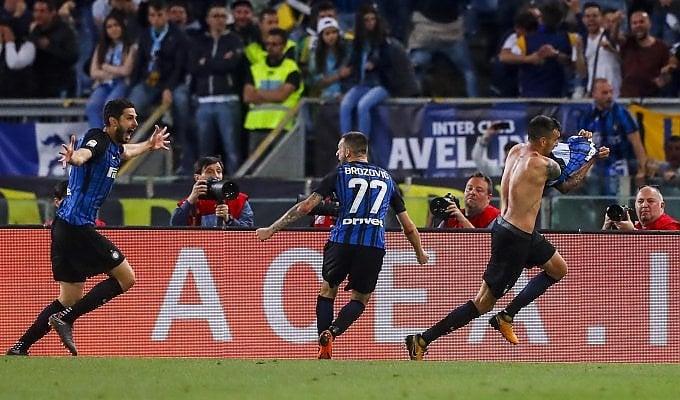 In Champions va l'Inter: Lazio battuta 2-3