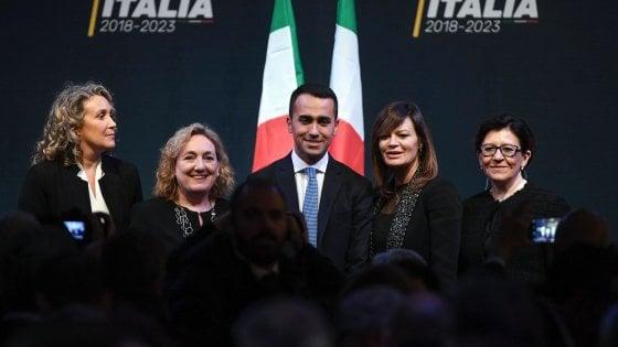 Nuovo governo, i tecnici della squadra di Di Maio presentati a Roma e
