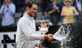 Tennis, Nadal vince Internazionali d'Italia: battuto Zverev