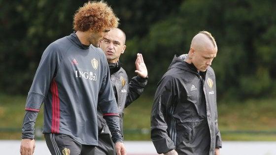 Belgio, niente Mondiali per Nainggolan. Martinez: ''Scelta tecnica''
