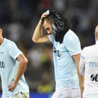 Lazio, un risveglio di rabbia e delusione. Immobile punge, Nani dà l'addio